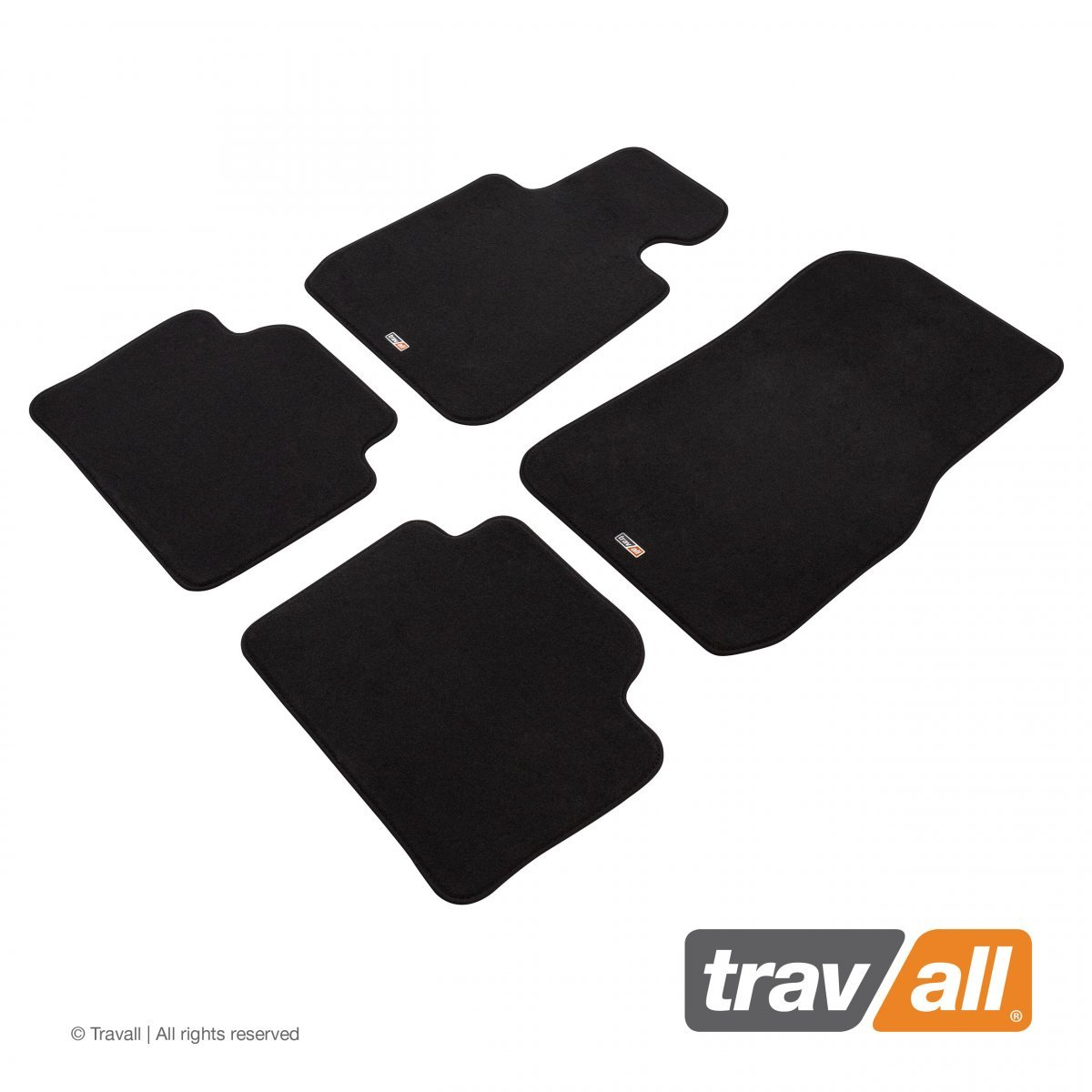 Travall® MATS [LHD] for BMW 3 Series Saloon / Estate (2012 - 2019)