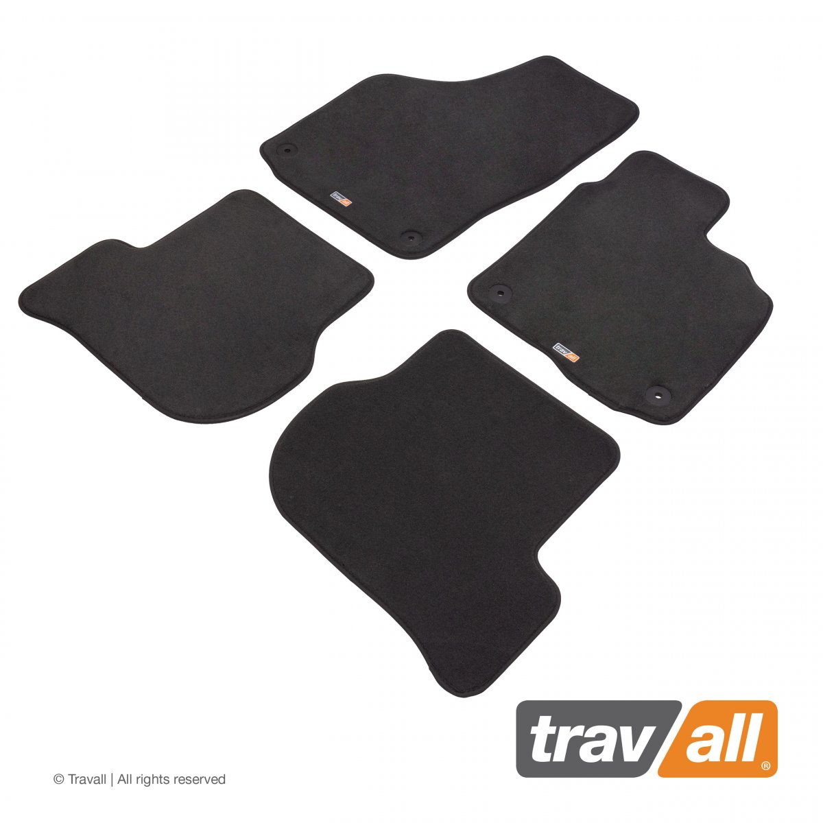 Travall® MATS [RHD] for Volkswagen Golf Estate (2009 - 2013)