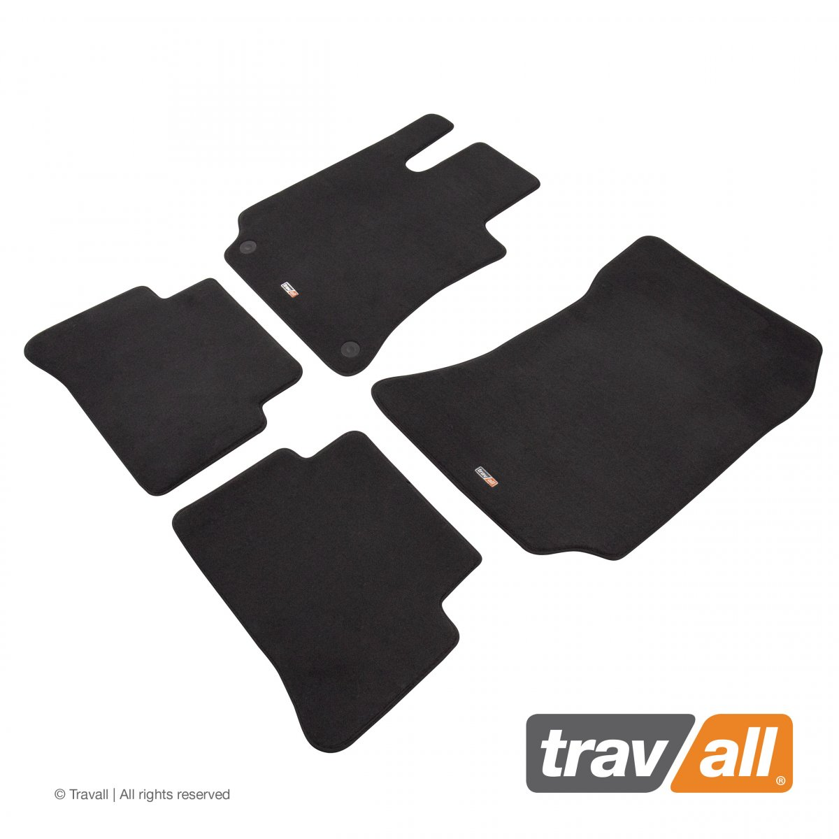 Travall® MATS [LHD] for Mercedes Benz E-Class Saloon / Estate (2009 - 2013)