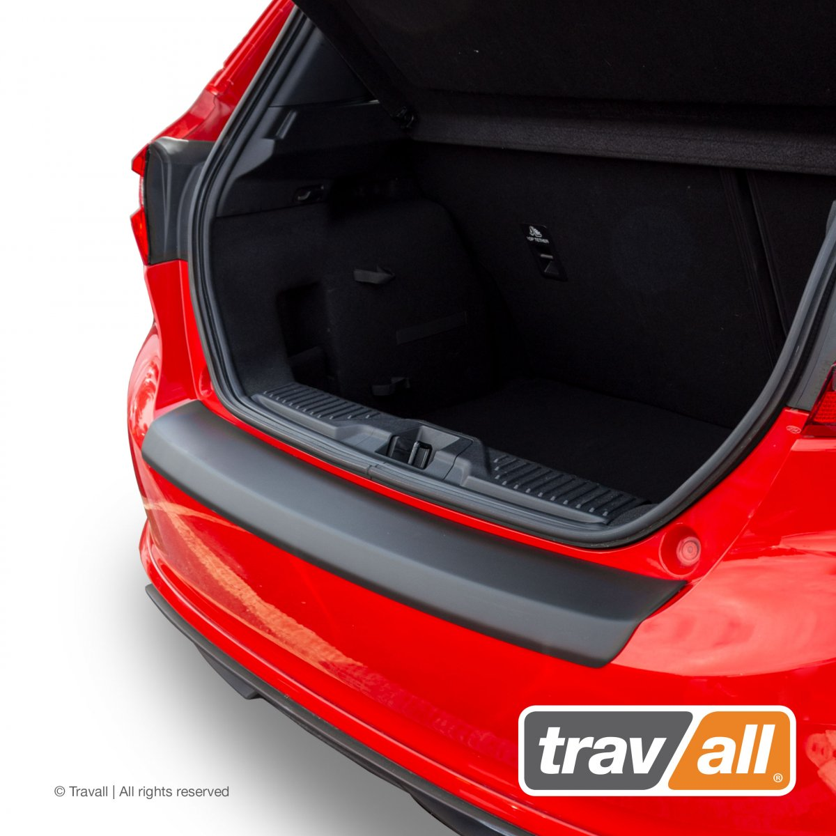 Travall® PROTECTOR-parachoques liso para FORD FIESTA 3/5 Puertas Hatchback (2017 >)
