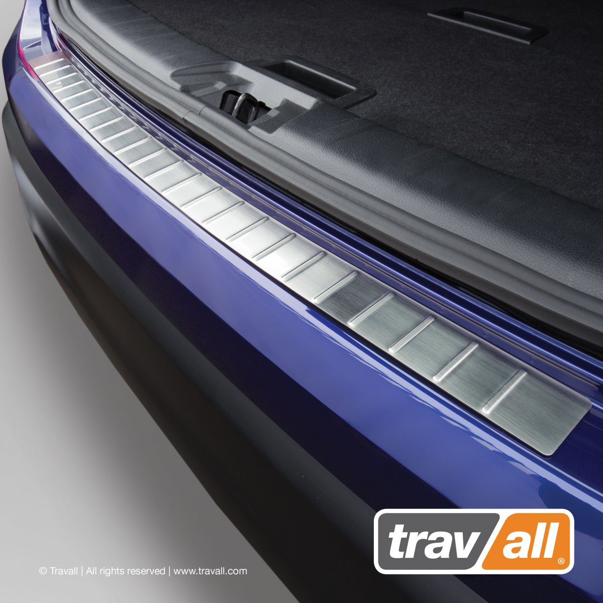 Travall® Protector de parachoques de acero inoxidable para Volkswagen Golf Familiar (2007-2013)