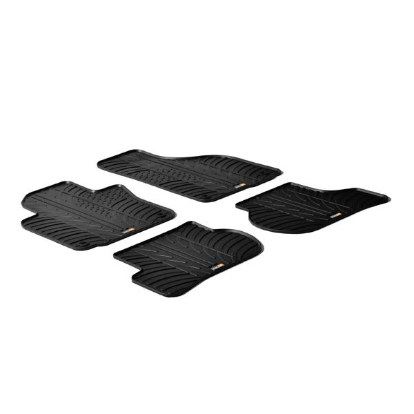 Travall® Mats para Volkswagen Golf Hatchback (2003-2012) / Familiar (2007-2013) / Jetta Berlina (2005-2011)/Sportwagen (2005-2015) / Rabbit Hatchback (2006-2008) / Scirocco (2008 >)