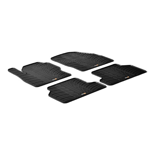 Travall® Mats para Ford Focus Familiar/Hatchback (2005-2010) / Berlina (2004-2010)