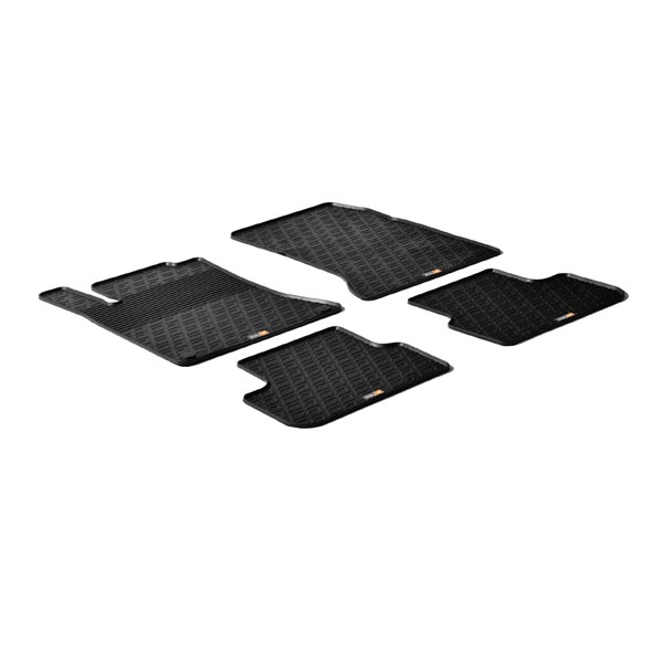 Travall® Mats for Mercedes Benz A-Class 5 Door (2012 >) / B-Class (2011 >) / CLA Shooting Brake/CLA 45 AMG (2015 >) / CLA (2013-2016) / A 45 AMG (2013-2018) /GLA/GLA 45 AMG (2013 - 2019)