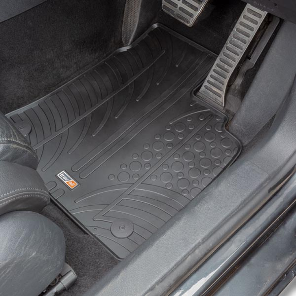 Travall® Mats para Volkswagen Golf Hatchback (2003-2012) / Cabrio (2011-2016) / Familiar (2007-2013) / Jetta Berlina (2005-2011) / Rabbit (2006-2008) / Scirocco (2008 >)