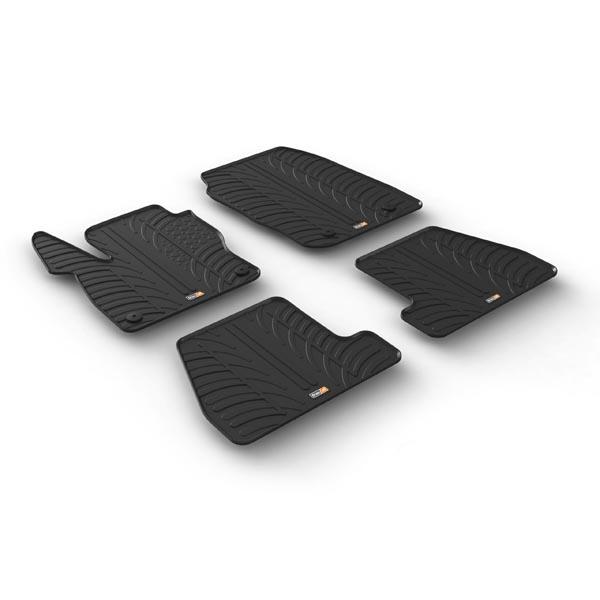 Travall® Mats para Ford Focus 5 Puertas Hatchback/Familiar/ST (2014-2018) / RS (2015-2018)