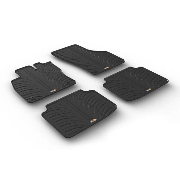 Travall® Mats para Skoda Superb Familiar (2015 >)
