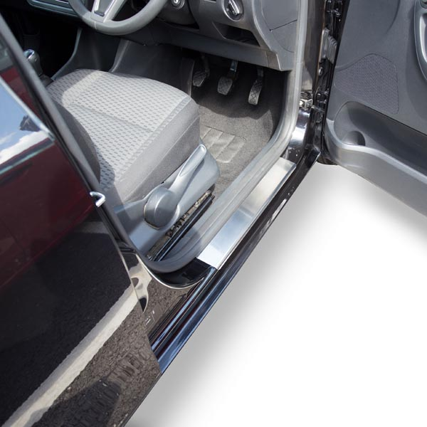 Travall® Sillguards para Skoda Fabia 5 Puertas Hatchback/Familiar (2007 >)